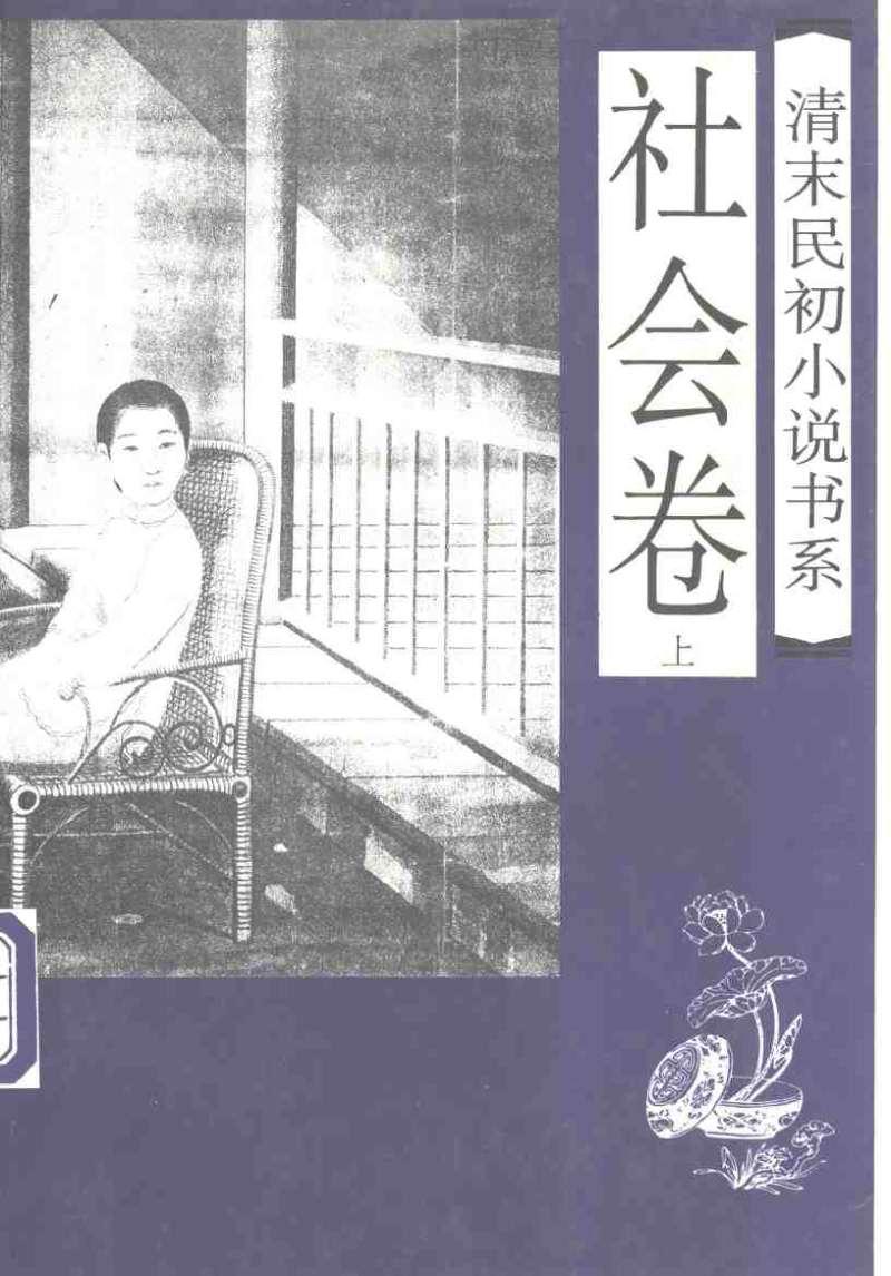 清末民初小说-社会卷(上下)