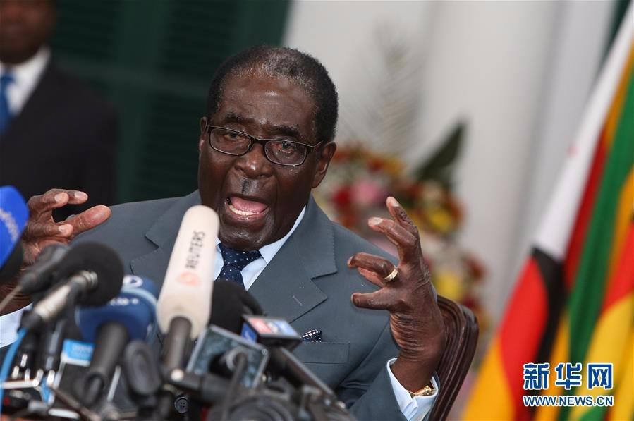 (国际)(1)津巴布韦前总统穆加贝逝世